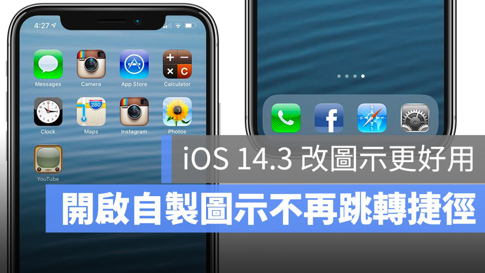 iOS 图标 捷径 跳转