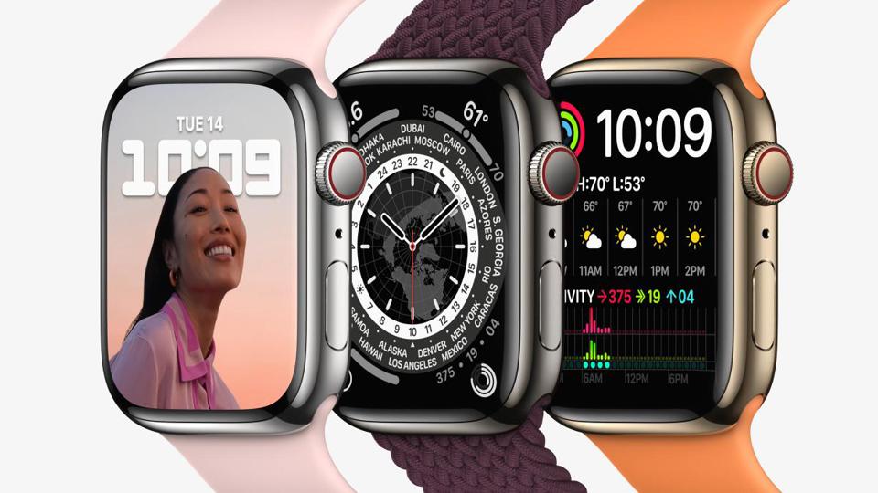 Apple Watch Series 7 2021 秋季 iPhone 发表会
