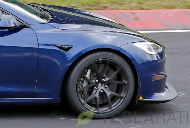 特斯拉 Tesla Model S Plaid 纽柏林赛道